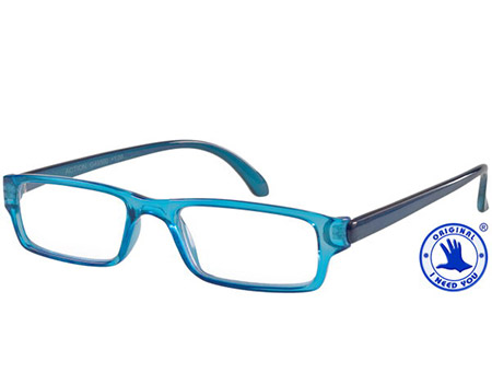 Action (Blue) Classic Reading Glasses - Thumbnail Product Image