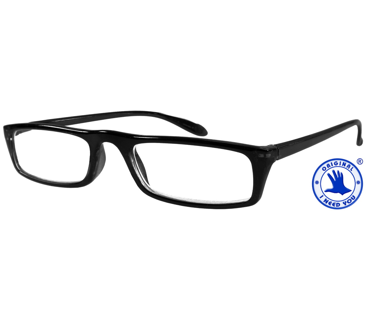 Main Image (Angle) - Florida (Black) Classic Reading Glasses
