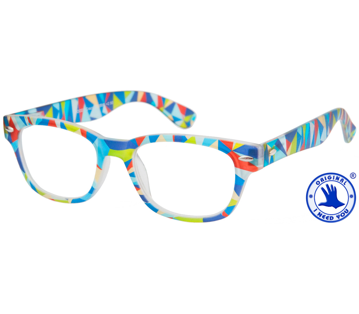 woody multi coloured reading glasses tiger specs