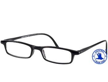 Adam (Black) Classic Reading Glasses - Thumbnail Product Image