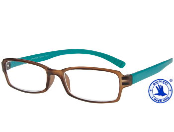 Hangover (Brown) Neck Hanging Reading Glasses - Thumbnail Product Image