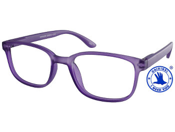 Rainbow (Purple) Retro Reading Glasses
