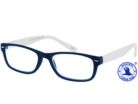Feeling (White) Classic Reading Glasses - Thumbnail Product Image