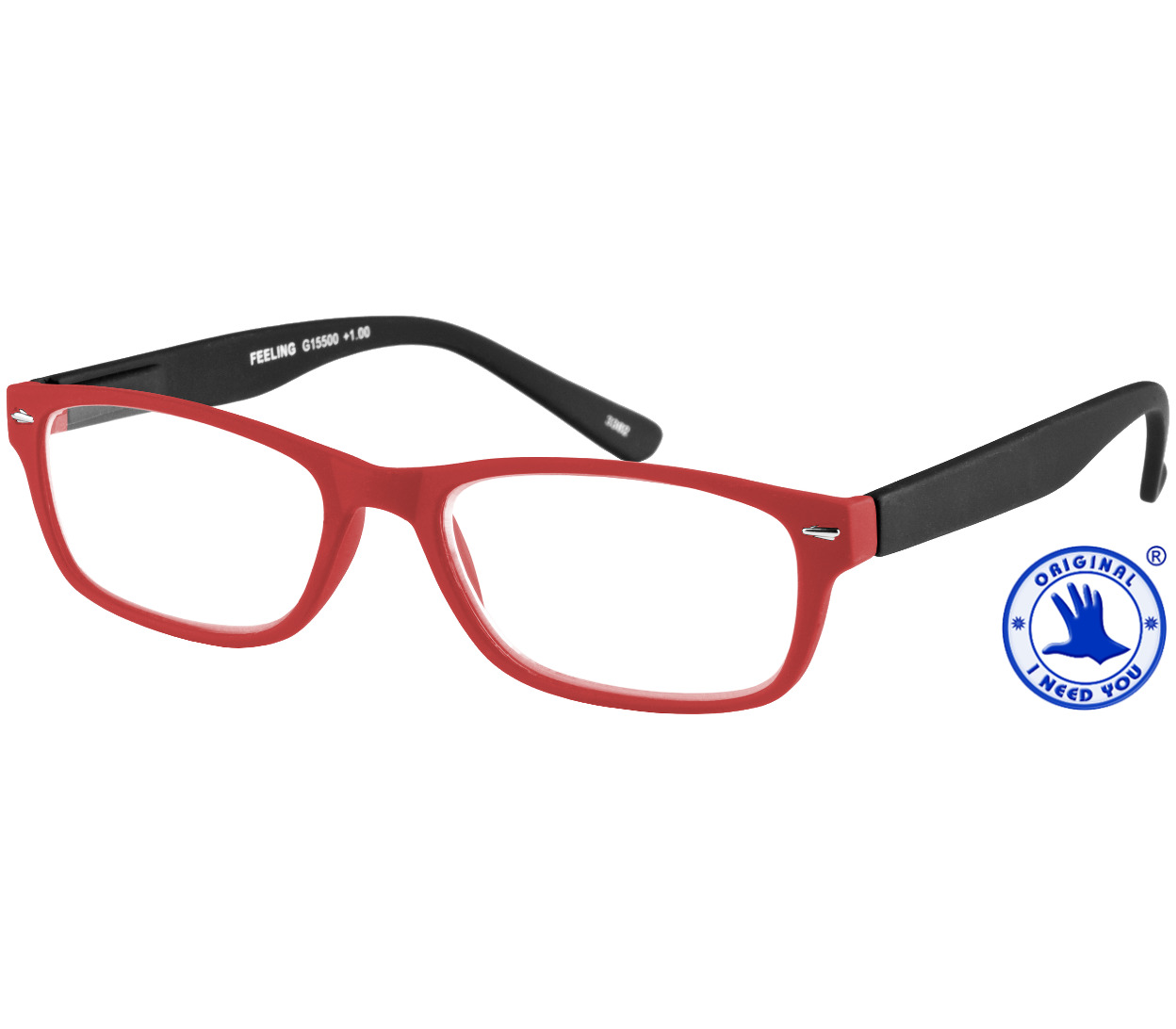 Feeling (Red) Classic Reading Glasses