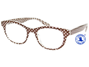 Betty (Brown) Retro Reading Glasses