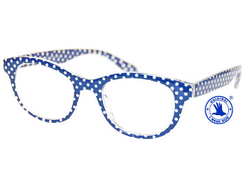 Betty (Blue) Retro Reading Glasses