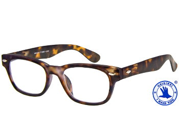 Woody (Tortoiseshell) Retro Reading Glasses