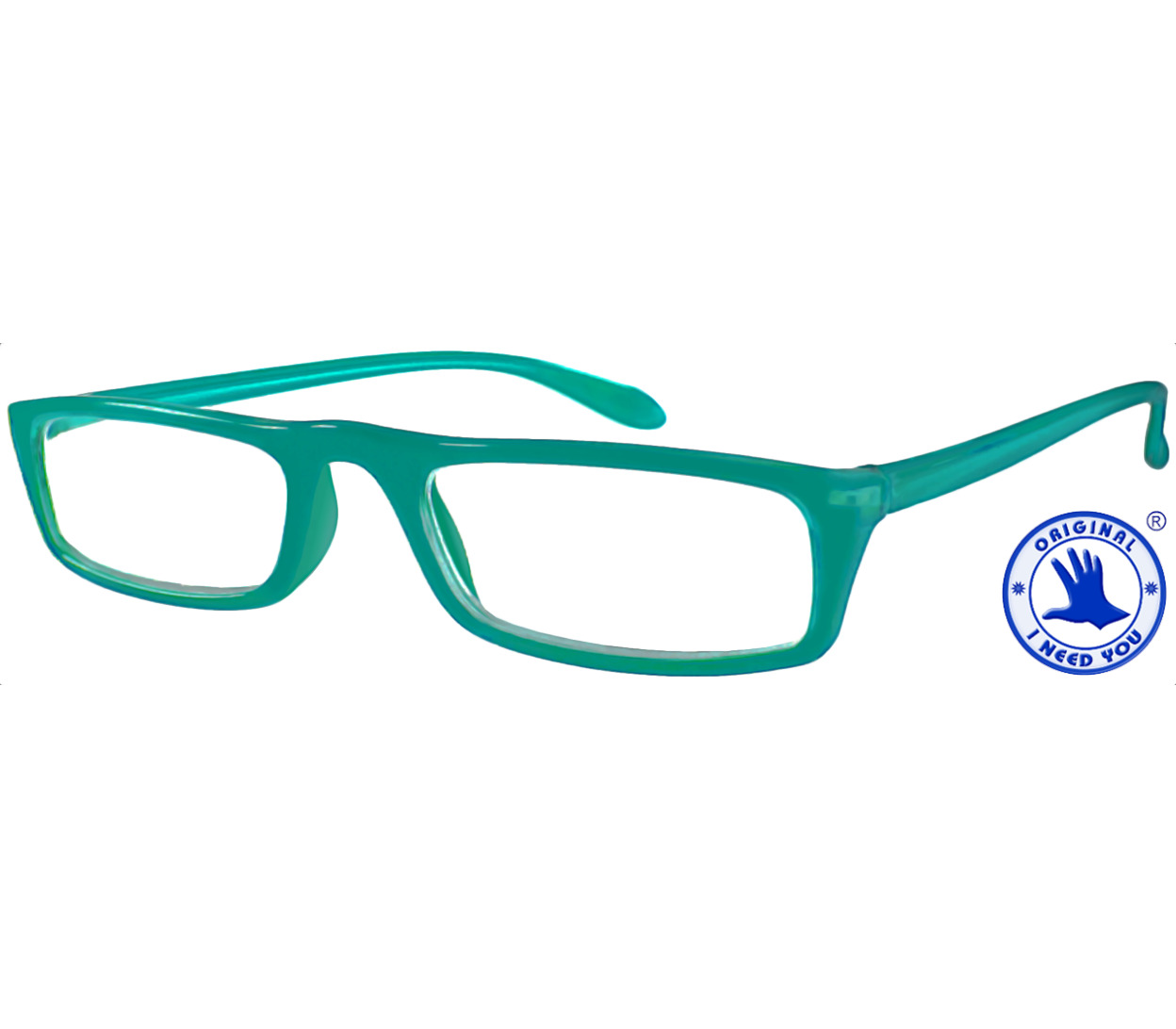 Main Image (Angle) - Florida (Turquoise) Classic Reading Glasses