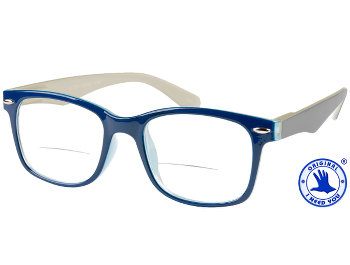 Gatsby (Blue) Bifocal Reading Glasses