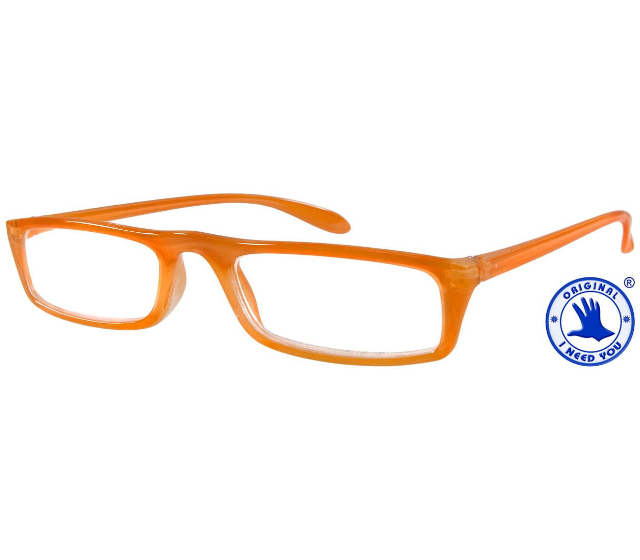 Main Image (Angle) - Florida (Orange) Classic Reading Glasses