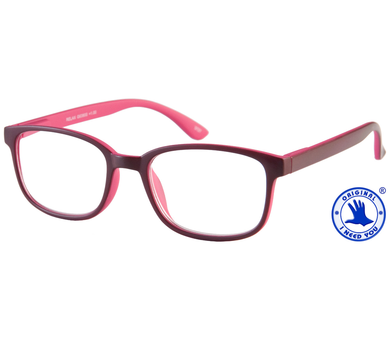 Relax (Pink) Retro Reading Glasses