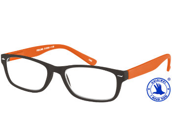 Feeling (Orange) Classic Reading Glasses