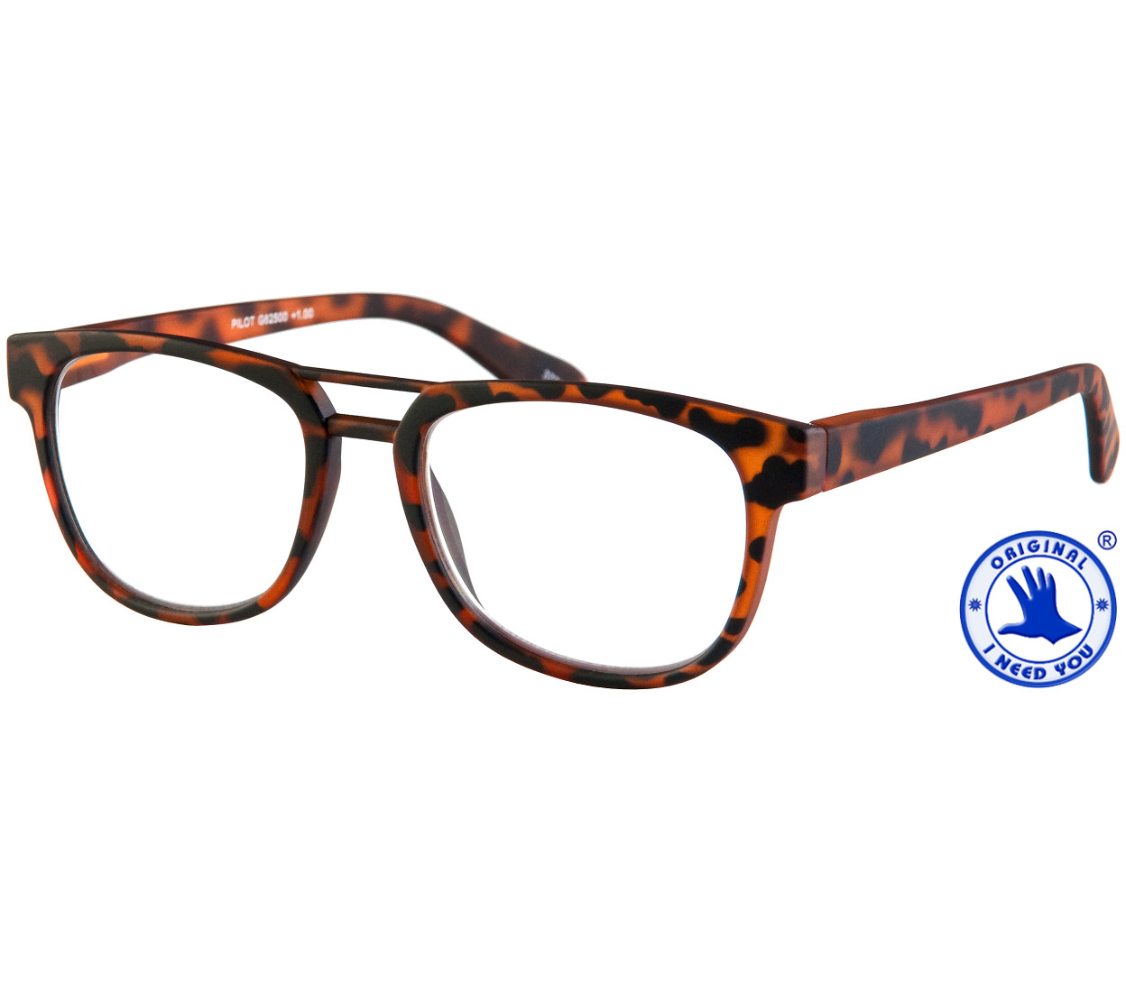 Pilot (Tortoiseshell) Retro Reading Glasses