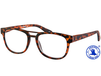 Pilot (Tortoiseshell) Retro Reading Glasses - Thumbnail Product Image