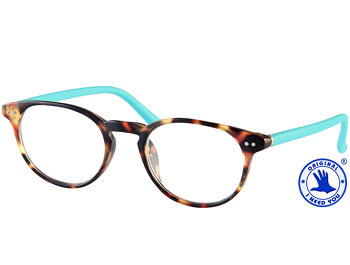 Doktor (Turquoise) Retro Reading Glasses - Thumbnail Product Image