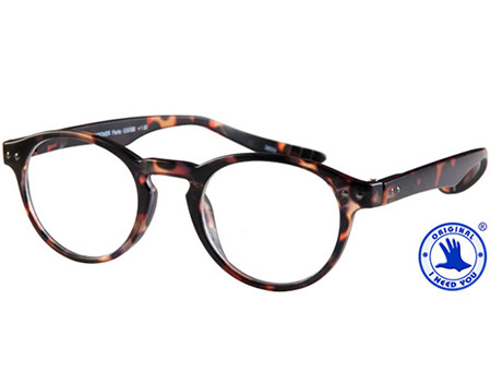 Jigsaw (Tortoiseshell) Neck Hanging Reading Glasses - Thumbnail Product Image