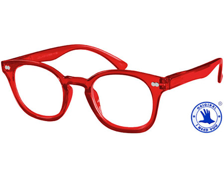 Lollipop (Red) Retro Reading Glasses - Thumbnail Product Image
