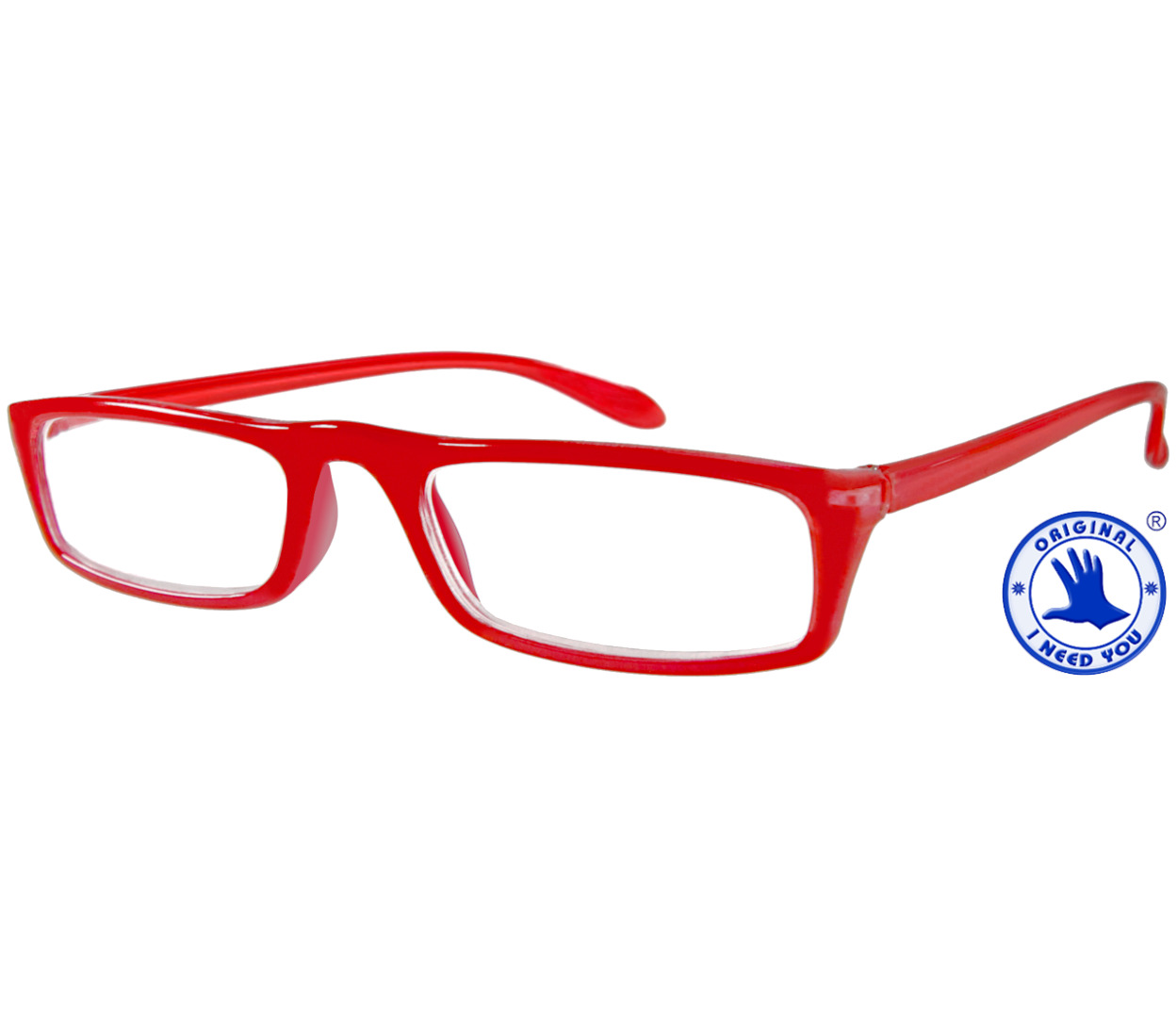 Main Image (Angle) - Florida (Red) Classic Reading Glasses