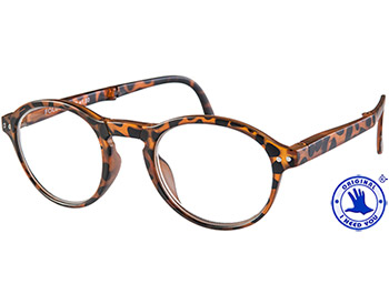 Foldy (Tortoiseshell) Folding Reading Glasses - Thumbnail Product Image