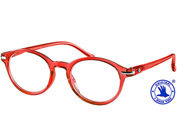 Tropic (Red) Retro Reading Glasses - Thumbnail Product Image