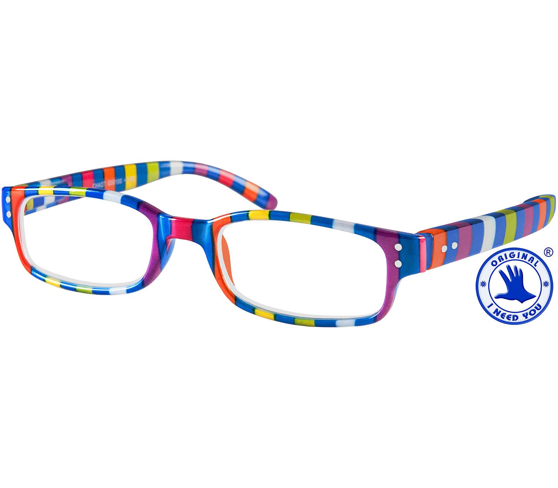 Main Image (Angle) - Chaos (Multi-coloured) Fashion Reading Glasses