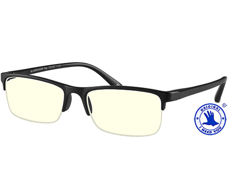 Sonar (Black) Computer Glasses Reading Glasses - Thumbnail Product Image