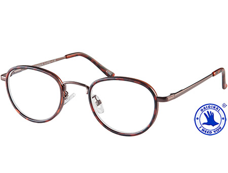 Windsor (Tortoiseshell) Retro Reading Glasses - Thumbnail Product Image