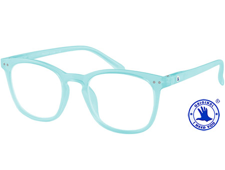 Frozen (Turquoise) Retro Reading Glasses - Thumbnail Product Image