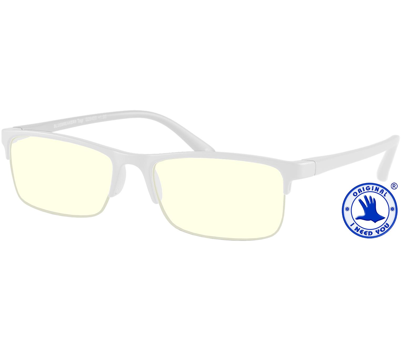 Main Image (Angle) - Sonar (Clear) Blue Light Glasses Reading Glasses
