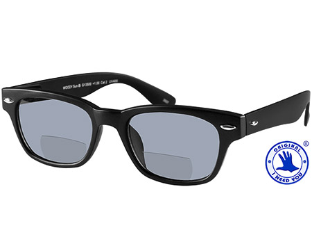 Skyline (Black) Bifocal Sun Readers - Thumbnail Product Image