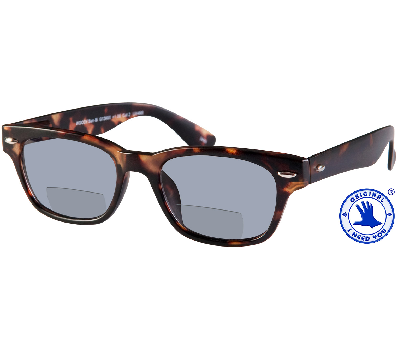 Main Image (Angle) - Skyline (Tortoiseshell) Bifocal Sun Readers