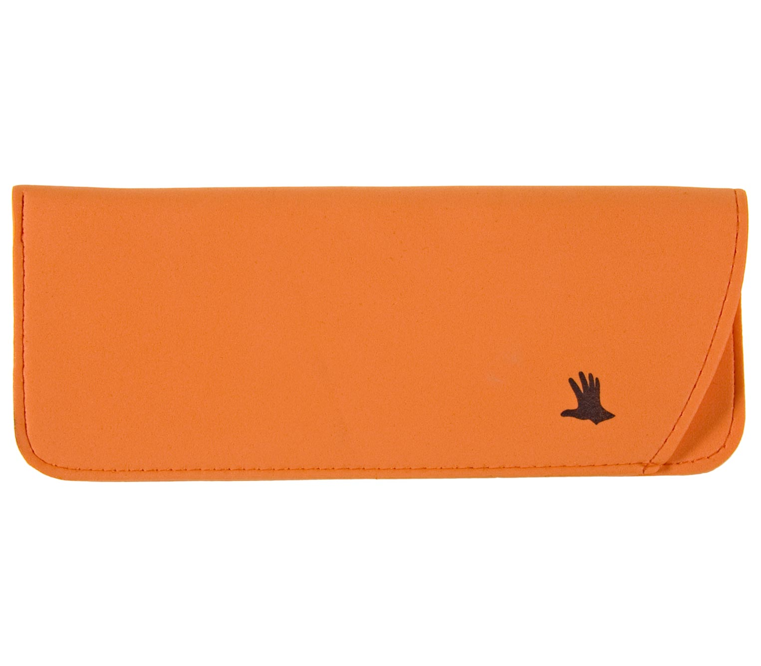 Main Image (Angle) - Moosy (Orange) Glasses Pouches Accessories
