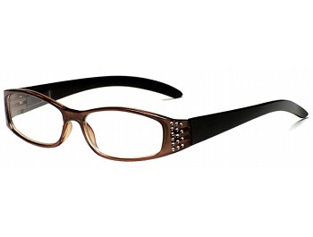 Maya (Brown) Fashion Reading Glasses