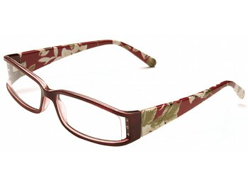 Floral (Red) Fashion Reading Glasses