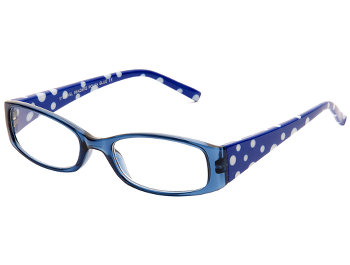 Polka (Blue) Fashion Reading Glasses