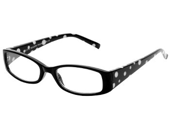 Polka (Black) Fashion Reading Glasses