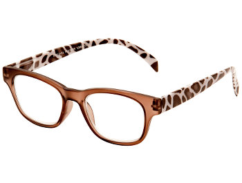 Lima (Brown) Retro Reading Glasses