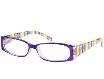 Aztec (Purple) Fashion Reading Glasses