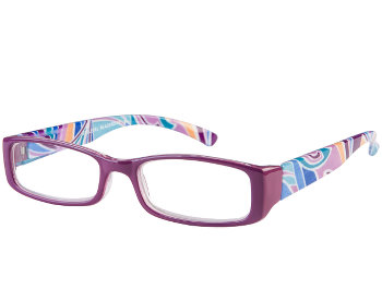 Santiago (Purple) Fashion Reading Glasses