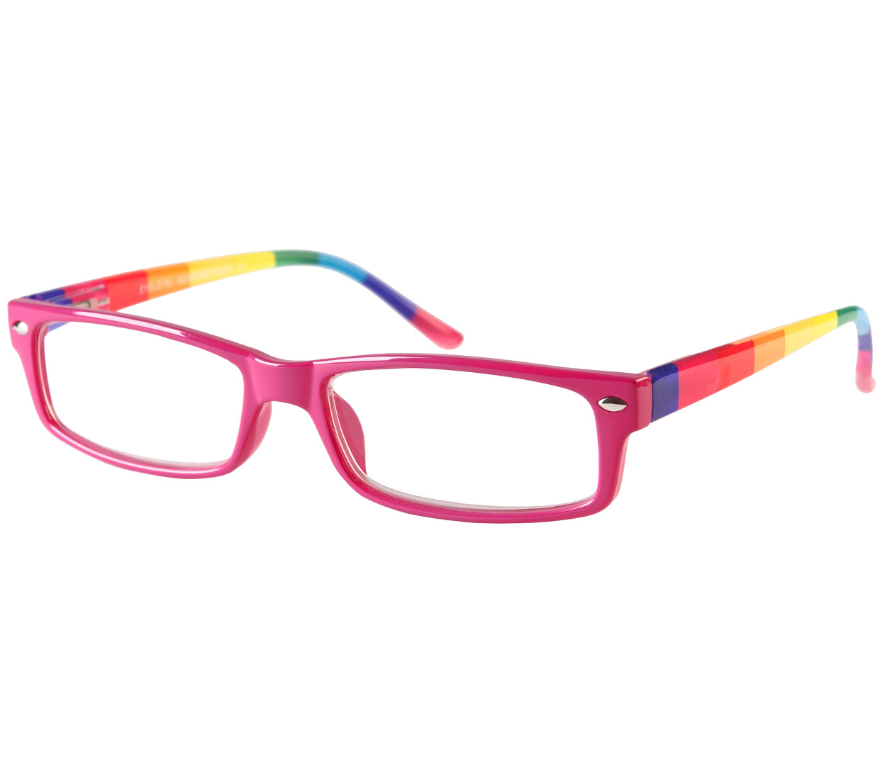 Main Image (Angle) - Prism (Multi-coloured) Fashion Reading Glasses