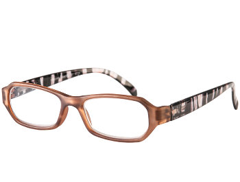 St Kitts (Brown) Fashion Reading Glasses - Thumbnail Product Image