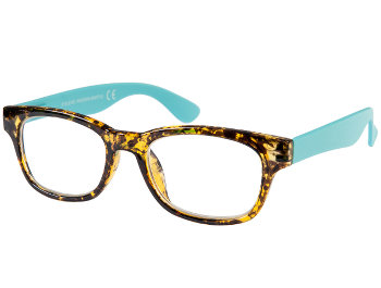 Metric (Tortoiseshell) Retro Reading Glasses