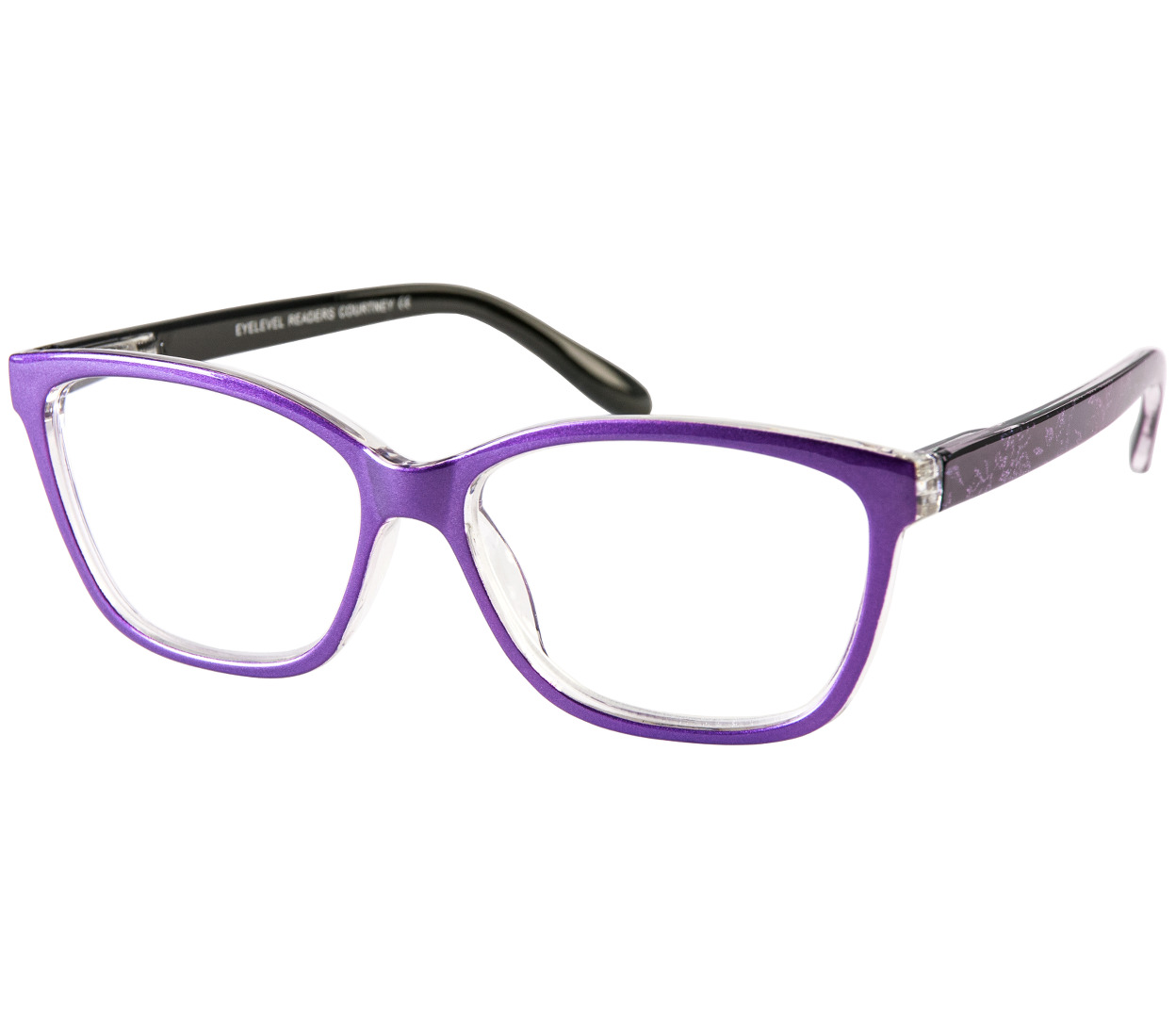 Courtney (Purple) Cat Eye Reading Glasses