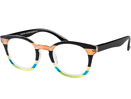 Majestic (Multi-coloured) Retro Reading Glasses - Thumbnail Product Image