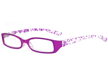 Floral (Purple) Fashion Reading Glasses