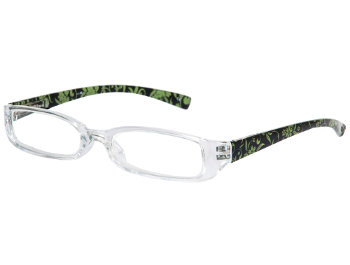 Floral (Green) Fashion Reading Glasses