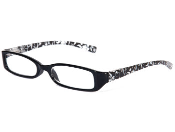 Floral (Black) Fashion Reading Glasses