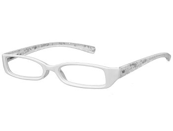Floral (White) Fashion Reading Glasses
